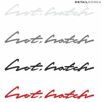 Griden Car Full Name Lettering Decal Sticker 10090A