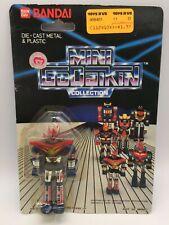 Vintage Mini Godaikin Mazinger Z Die Cast Metal Figure Robot Toy MOC Bandai 1984