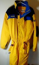 Columbia Sportswear Co Snowsuit  Onepiece Ski Suit-Yellow Sz 18/20 Mint