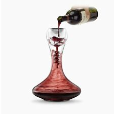 TWISTER Wine Aerator & Glass Decanter Aeration Red Taste Scent Enhancer Carafe