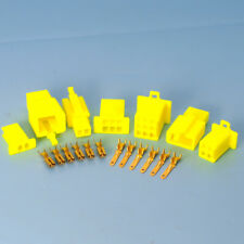Quality 2.8mm Yellow Mini Connector Kits 2 3 4 6 9 Way Motorbike Motorcycle Car