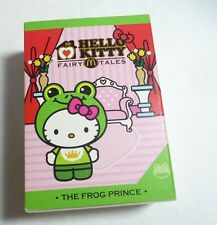 "HELLO KITTY 6"" Fairy Tales THE FROG PRINCE Toy McDonalds Malaysia MINT 2014"