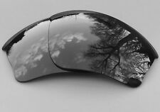 Gravé Polarisée Noir Miroir De Remplacement OAKLEY HALF JACKET XLJ lentilles