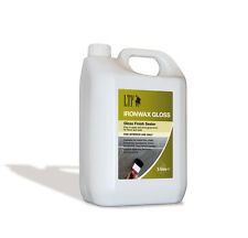 LTP Iron Wax Gloss Sealer 5 Litre WET LOOK tiles, natural stone slate