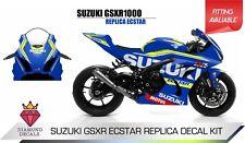Suzuki GSXR Ecstar Replica Decal Sticker Kit Trackday Bike