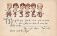 """""""Missed You at Sunday School"""" - PERSONALIZED APPEAL"""