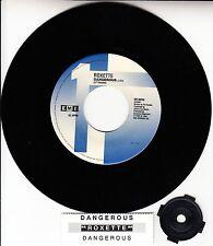 "ROXETTE Dangerous 7"" 45 rpm vinyl record NEW + juke box title strip RARE!"