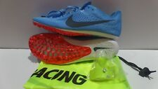 Nike Zoom Victory Elite 2 Size 7.5 Mens Blue Fox Racing Spikes New 835998-446