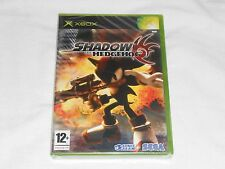 NEW UK PAL VERSION Shadow the Hedgehog XBox PAL Game SEALED Sega sonic (READ)