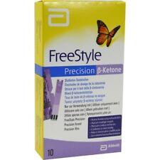 Freestyle Precision Beta (ß) -Ketone (10 Ketone-Teststreifen) MHD 31.05.2019