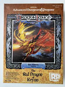 Ral Partha AD&D DragonLance Miniatures 10-500 The Red Dragon Of Krynn, RARE