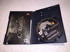 Shadow of the Colossus (PlayStation 2, 2006) PS2 Black Label Complete Vr Nice~