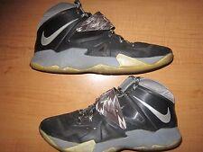 Nike Zoom LeBron Soldier 7 VII Wolf Gray/ Black/ White Men's 10.5  (609679-001)