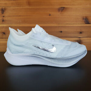 Nike Zoom Fly 3 Women's Shoes White Running Jogging