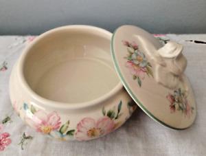 St Michael Vintage Country Diary of an Edwardian Lady Ceramic Trinket Pot Box