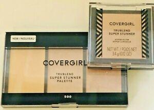 CoverGirl TruBlend Super Stunner Pallete & Highlighter (BundleOF 2)