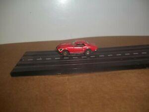 Vintage Aurora Thunderjet Pontiac Firebird Red HO Slot Car T-Jet