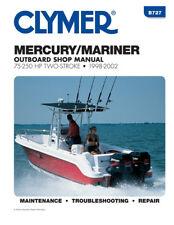 Clymer B727 Manual Mrcry Mrne 2 Strk Outbrd 75-250hp