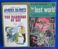 LOT of 2 Sci Fi Paperbacks C10 Sir Arthur Conan Doyle James Blish VG