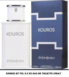 Kouros by Yves Saint Laurent, 3.3 oz EDT Eau De Toilette Spray Men NEW, SEALED