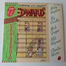 Rolling Stones Ry Cooder - Jamming with Edward - Vinyl LP Japan Press OBI NM