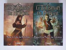 Lot de 2 Le Talisman de Nergal par Gagnon Michel Lafon (vendus aussi séparément)