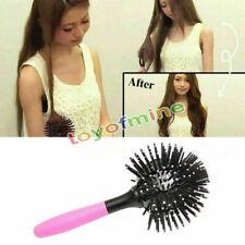 New 3D Hair Brush Ball Style Blow Drying Detangling Salon Heat Resistant Comb