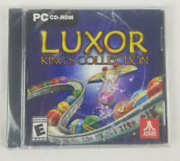 Atari Luxor King's Collection for PC Computer CD-ROM 4 Games in 1