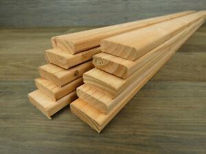 10 Rechteckleisten Douglasie 14 x 44 x 890 mm Holzleisten Leisten Bastlerleiste
