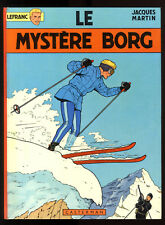 LEFRANC  n°3   Le Mystère Borg   Jacques MARTIN     CASTERMAN   1972