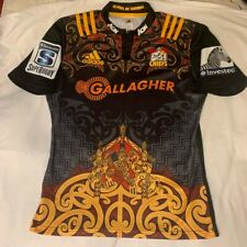 NZ Gallagher Chiefs Adidas Mens Rugby Jersey 2016 Maori Whatanoa New Zealand L
