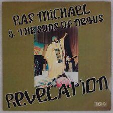RAS MICHAEL & SONGS OF NEGUS: Revelation TROJAN Roots Reggae LP