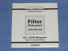 Hama filtro Wratten 100x100 CC 25m