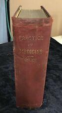 Principles & Practice of Medicine HC William Osler 1909 D Appleton 7th ed SCARCE