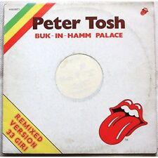 PETER TOSH - Buk-in-hamm palace - LP VINYL 12 REMIXED VERSION VG+ / VG-