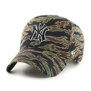 New York Yankees Cap Camo MLB Baseball 47 Brand Kappe 3Tone SNAPBACK Yankees Cap