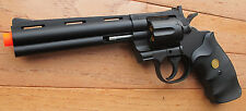 Becatifull Full Size 357 MAG Revolver Spring Airsoft Gun Great for Collector