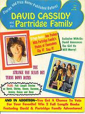 DAVID CASSIDY AND THE PARTRIDGE FAMILY  rare 1971 magazine all on DAVID CASSIDY