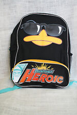 "Disney Phineas & Ferb Agent Perry the Platypus 16"" School Book Bag BackPack"
