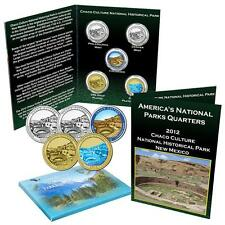 National Park Quarter Set - Chaco Culture National Historical Park New Mexico