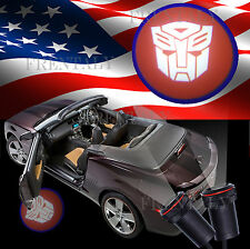 2X LED 5th Gen Car Door Projector Ghost Shadow Step Light for Transformer Toyota