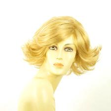 Perruque femme courte blond clair doré JEANNETTE LG26
