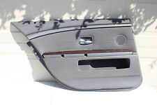 2002-2005 BMW 7-SERIES 745Li 750Li 760Li OEM REAR LEFT DOOR PANEL COVER GREY E65
