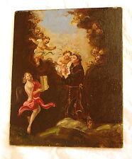 Altes Ölgemälde St Antonius von Padua Antonio