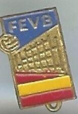 old FEVB pin badge