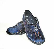 Romika Hausschuhe Pantoffeln * Romisana 227 * Samt blau Gr.37