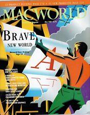 "ITHistory (1989/05) Magazine: MACWORLD ""Brave New World Macworld Goes Desktop"