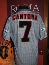 CANTONA MANCHESTER UNITED 1995/1996 MAGLIA SHIRT CALCIO FOOTBALL MAILLOT JERSEY