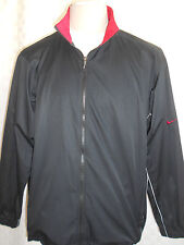 NIKE GOLF CLIMA FIT BLACK JACKET MEN'S SIZE XL VERY NICE COOL