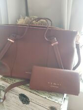 ❤💖❤Ted Baker Oellie Brown Leather Bag & Matching Purse BNWT ❤💖❤